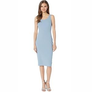 Betsey Johnson Scoop Neck Sleeveless Midi Dress